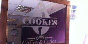 Cookes Coffee & Curios Header