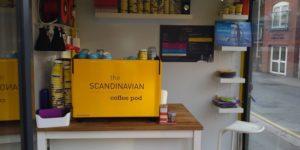 The Scandinavian Coffee Pod Banner